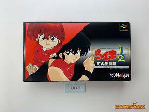 RANMA 1/2 Nintendo Super Famicom SNES SFC JAPAN Ref:313438