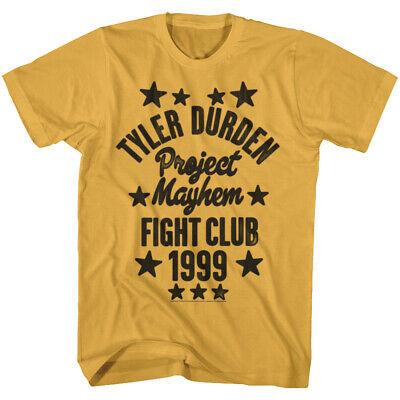 Fight Club Project Mayhem Fist Bump 1999 Men/'s T Shirt NE Paper Street Tyler
