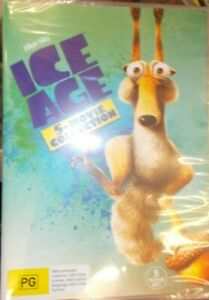 Ice-Age-5-Movie-Collection-GENUINE-R4-AUSTRALIAN-FORMAT-DVD