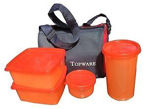 Topware Lunch box- Mulicolor - 4 Pc. Set