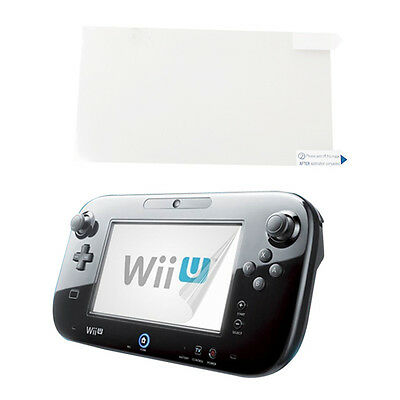 Anti-Glare LCD Screen Clear Film Protector Cover for Nintendo Wii U Gamepad