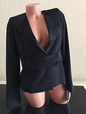NWT 328$ Sinequanone Black  Jacket Blazer Small Women