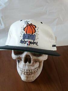 1992-NBA-All-Star-Game-Starter-Vintage-Men-039-s-Snapback-Cap-Hat-NWT-BLK-W-Jordan