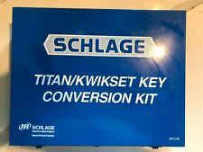 Schlage To Kwikset Titan Conversion Keying Kit Rekey Schlage F Locks To Kwikset