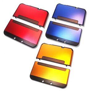 Nintendo-NEW-3DS-XL-3DSXL-Aluminium-Metal-Case-Cover-Shell-Housing-UK-Seller