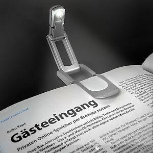 EAXUS-LED-Leselampe-Buch-Lese-Leuchte-Licht-Buchlampe-Buchleuchte-Klemmleuchte