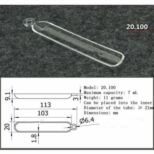 New Clear combustion quartz boat crucible Various sizes Selectable
