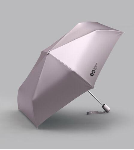 2021 Flat Umbrella Automatic Sun Rain Women Anti UV Parasol Folding Windproof.