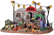 Lemax 14323 KILLER CLOWN MOBILE HOME Spooky Town Table Accent Halloween Decor I