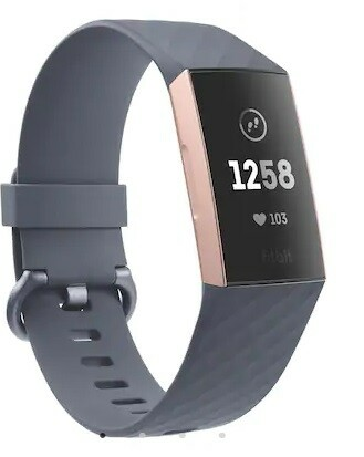 Smartwatch, Fitbit, Fitbit Charge 3 i Rosa/Guld.  Ikke…