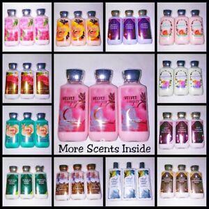 Set-of-3-Bath-amp-Body-Works-Lotion-Shea-Vitamin-E-Lot-Gift-Beauty