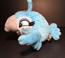 "Angry Birds Rio Blue Girl Bird Plush Stuffed Animal 6"""
