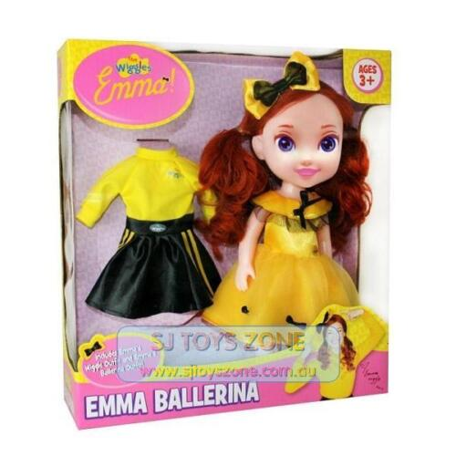 The Wiggles Emma Ballerina Dress Up Kewpie Doll 30cm w/ Wiggle Outfit Kids Toy