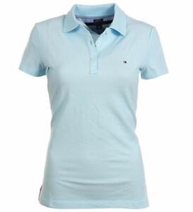 Tommy-Hilfiger-Damen-Poloshirt-Polo-Original-Alle-Groessen