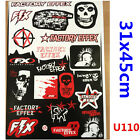 FX Sticker Decal Car Motorised Bike PIT Dirt ATV Quad Motorcycle Motocross Effex