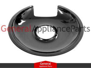 """Frigidaire Kelvinator Stove Range Cooktop 8"""" Black Burner Drip Pan 318138500"""