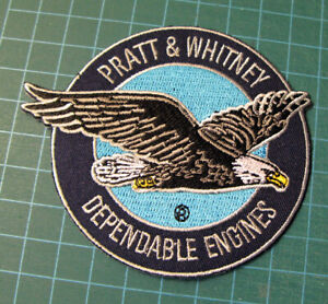 PRATT-WHITNEY-DEPENDABLE-ENGINES-EMBROIDERED-PATCH-COLLECTORS-AVIATION