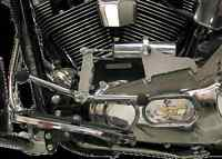 Pingel Chrome Electronic Easy Shifter Kit 00-06 Harley Softail Flstf Fxst Flstn