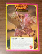 Seltene Werbung HE-MAN & MOTU She-Ra & Swiftwind POP Italien 1986