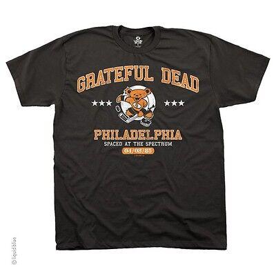 AUTHENTIC GRATEFUL DEAD SPECTRUM /'85 PHILADELPHIA MUSIC ROCK SHIRT M L XL 2XL