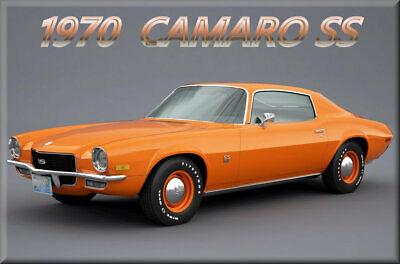 40 MIL Orange Refrigerator Magnet 1970 Plymouth Superbird