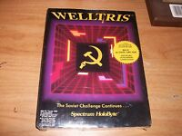 Welltris Ms-dos 3.5 Disk 1989 Action Arcade Software Rare Spectrum Holobyte