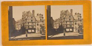 Francia-Angers-Casa-de-Adam-Foto-PL54StTh6-Estereo-Vintage-Analogica