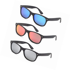 2d2b86aa36 GAMMA RAY Polarized UV400 Classic Style Sunglasses with Mirror Lens and  Multi Pa