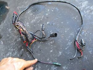 1998 johnson outboard 90hp engine wiring harness ebay rh ebay com Yamaha Outboard Wiring Harness Mercury Outboard Internal Wiring Harness