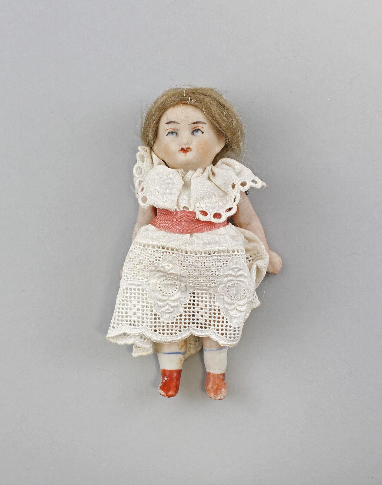 Ganz- Biskuit Porzellan Puppenstubenpuppe 99810017
