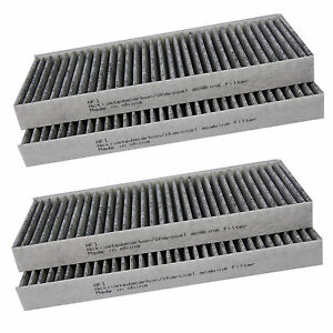 kit 4pcs cabin air filter fits nissan xterra pathfinder. Black Bedroom Furniture Sets. Home Design Ideas