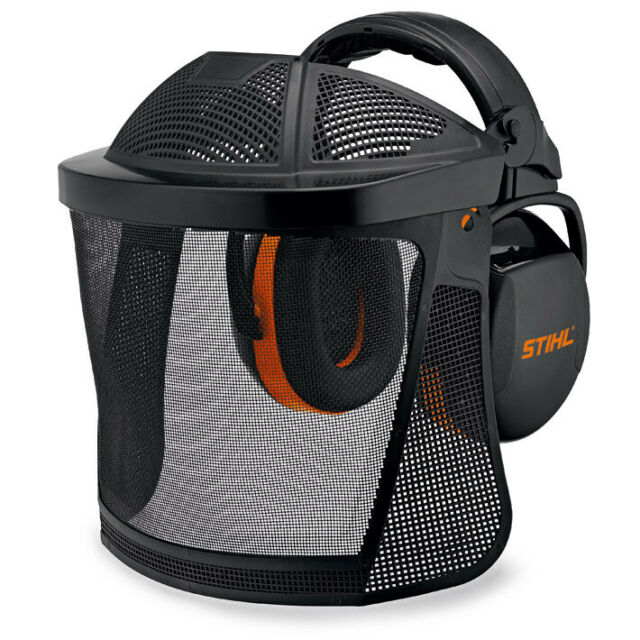 STIHL Gesichtsschutz Gehörschutz Nylongitter Kombination 00008840566 Stirnschutz