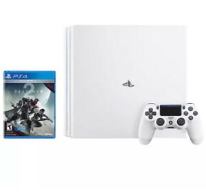 2018-NEW-Sony-Playstation-4-PRO-4K-PS4-1TB-Glacier-White-Console