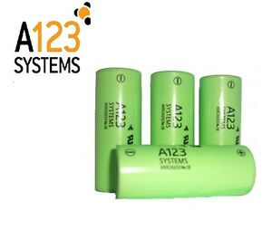 4-x-A123-26650-2500mA-LiFePO4-cells-High-discharge-current-70Amp-lithium-battery
