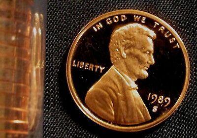 1989-S PROOF LINCOLN CENT
