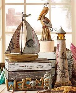 Coastal Gift Collection Nautical Sea Decor Ship Boat