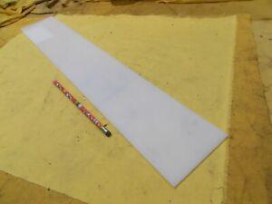 "QUADRANT NATURAL HDPE BAR machinable plastic flat sheet stock 1//2/"" x 2/"" x 24/"""
