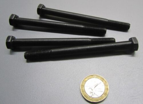 M8 x 1.25 x 100mm Length 10 Pcs Cap Screw Bolt PT Thread Class 10.9 Uncoated