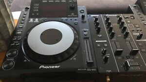 1x-one-PIONEER-CDJ-900-CDJ900-DJ-Mischpult-Mixer-fur-Turntable-BEST-ZUSTAND