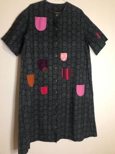 Marimekko Dress Iloinen Takki Patch Pockets