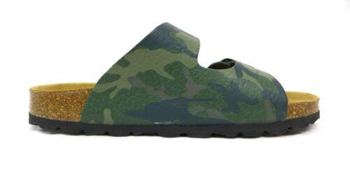 Jungen Hausschuhe Barras grün Größe 31 32 33 34 35 36 37 38 39 40 Camouflage