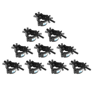 TUV-Heavy-Duty-Lighting-Truss-DJ-Light-Clamps-O-Clamp-for-1-2-1-4in-Pipe-10PCS