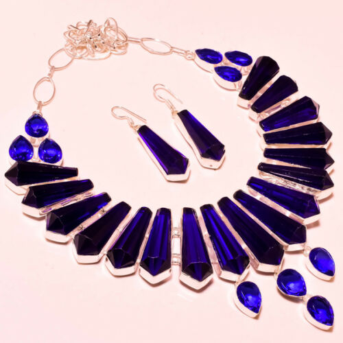 """Multi Gemstone Faceted Handmade Fashion Jewelry Necklace 18/"""""""