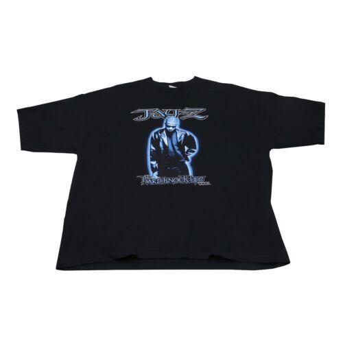1999 Vintage Jay Z Hard Knock Life Tour Rap Tee Sz