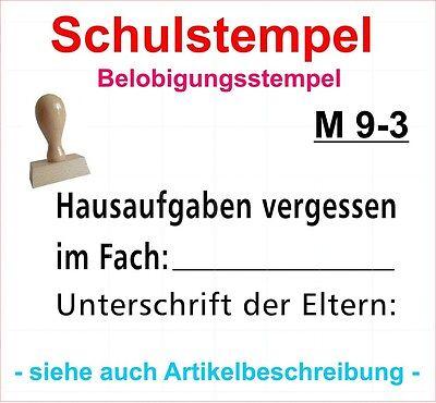 Stempel Schule Lehrerstempel Belobigungsstempel Motivstempel M 11-3