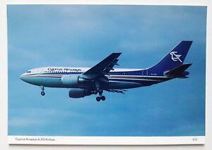 Cyprus-Airways-Airbus-A310-Postcard