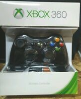 Official Microsoft Xbox 360 Wireless Controller (glossy Black) Free Shipping