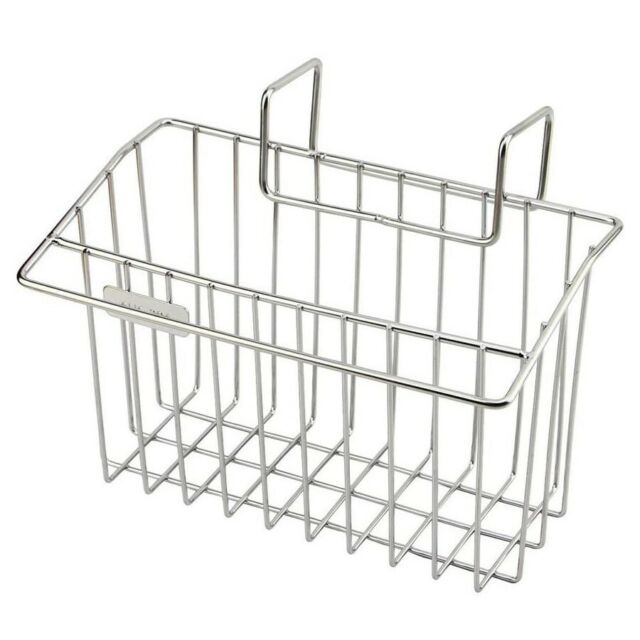 Stainless Steel Sink Shelf Soap Sponge Drain Rack Bath Kitchen P C Storage R8F5