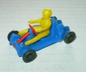 Vintage-Spielzeug-Auto-Groschenauto-Plastik-Modellauto-Go-Kart-1-43-Gokartsport