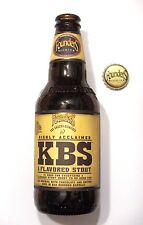 Founders - KBS Stout 2017 - Empty 12oz Craft Beer Bottle Rare Limited Michigan